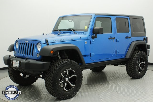 Lovely Pre Owned 2015 Jeep Wrangler Unlimited Rubicon