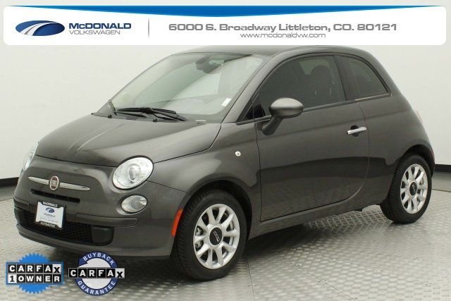 Fiat 500 Pop >> Pre Owned 2017 Fiat 500 Pop Fwd 2d Hatchback