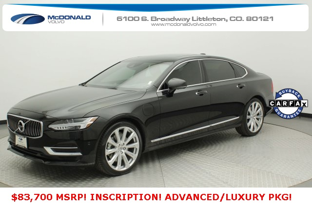 Pre-Owned 2019 Volvo S90 Hybrid T8 Inscription