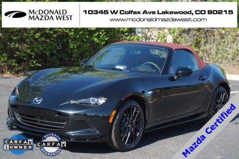 Certified Pre-Owned 2018 Mazda Miata Club WITH BREMBO PACKAGE