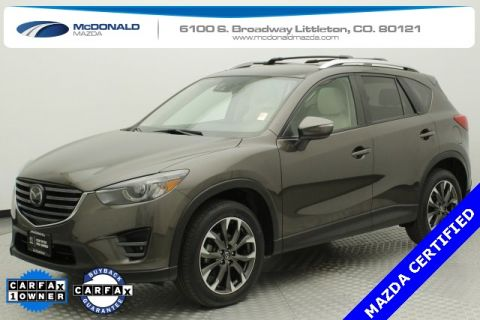 Certified Pre-Owned 2016 Mazda CX-5 Grand Touring GT I-ACTIVSENSE PACKAGE