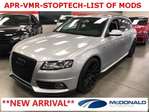 Pre-Owned 2012 Audi A4 2.0T Avant Premium Plus
